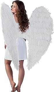 Boland 52803 - emplumadas alas del ángel, 120 x 120 cm, color blanco