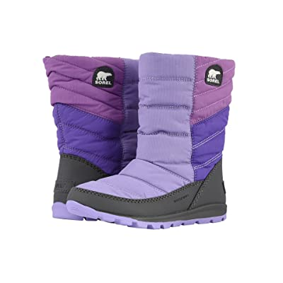 SOREL Kids Whitney Mid (Toddler/Little Kid/Big Kid) (Paisley Purple/Emperor) Girls Shoes