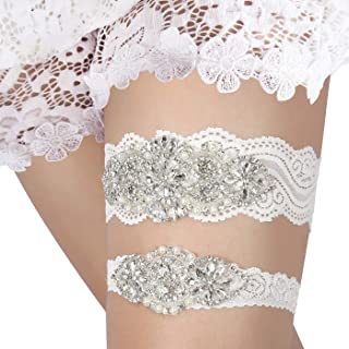 stretch lace garter
