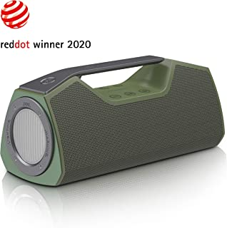 Wharfedale Portable Bluetooth Speaker with 25W Stereo Sound, Rich Bass, IPX7 Waterproof,..