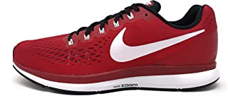 Nike Mens Air Zoom Pegasus 34 TB, Varsity Crimson/White-Black, 9 M US