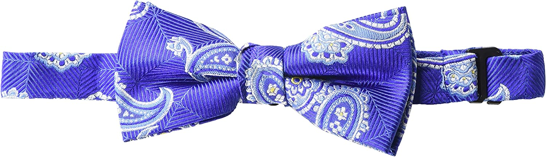 Isaac Mizrahi Boys' Silk Print Bowtie, Multi, One Size