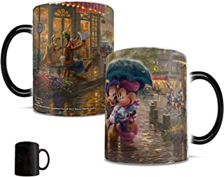 Mickey and Minnie – Thomas Kinkade – Paris France – Morphing Mugs Heat Sensitive Mug – Ceramic Color Changing Heat Reveal Coffee Tea Mug – by Trend Setters Ltd.
