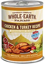 Whole Earth Farms Grain Free All Breed Wet Dog Food, 12.7 oz Can, Case of 12