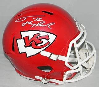 Tyrann Mathieu Signed Helmet - Kansas City Chiefs Full Size Speed W Honey Badger - Autographed NFL Helmets