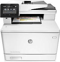 HP Color LaserJet Pro MFP M477fdw - Impresora láser a color (A4, hasta 27 ppm, 750 a 4000 páginas al mes, USB 2.0 de alta velocidad fácil acceso, Red Gigabit Ethernet 10/100/1000 Base-TX incorporado)