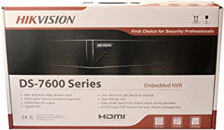 Hikvision 4 Channel (4 Independent PoE) H.265 4K Network Video Recorder NVR, Embedded Plug & Play - DS-7604NI-K1/4P