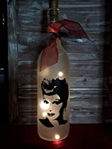 I Love Lucy Lucille Ball Bottle Decoration Gift Glass