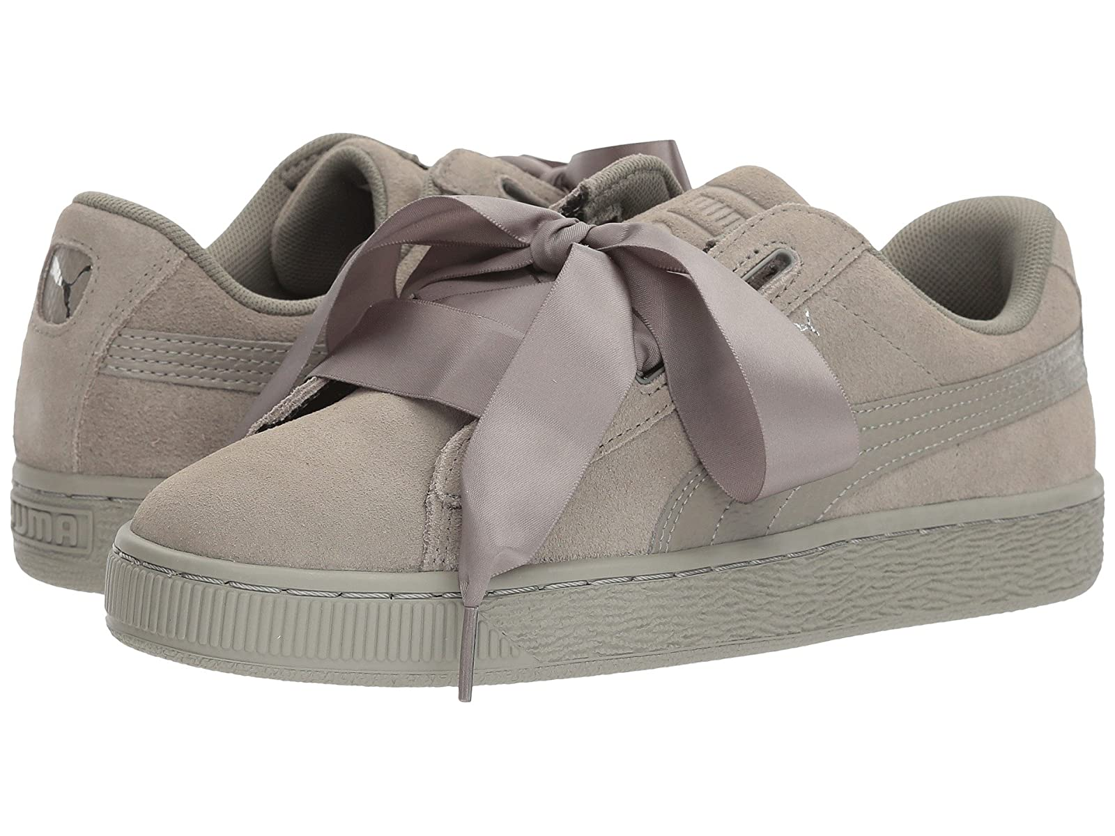 Puma Kids Suede Heart SNK (Big Kid)Cheap and distinctive eye-catching shoes