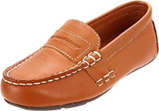 Polo by Ralph Lauren Telly Slip-On (Toddler/Little Kid/Big Kid),Tan,4 M US Big Kid