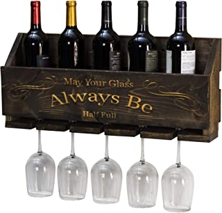 Del Hutson Designs Le Luxe Engraved Always Be Wine Rack