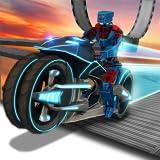 Traffic Bike Rider Racing y Drifting Adventure Simulator Misión: Robot Bike Stunt Extreme Freestyle Motocross Game Gratis 2018