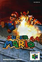 Super Mario 64 N64 Instruction Booklet (Nintendo 64 Manual Only) (Nintendo 64 Manual)