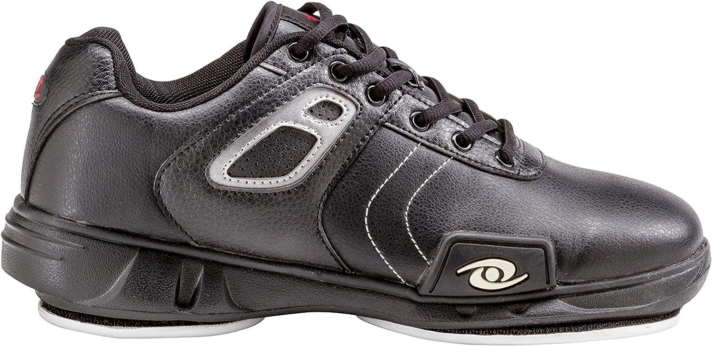 ACACIA 93090 Hacker Curling shoes, 9, Black Silver
