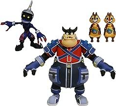 DIAMOND SELECT TOYS Kingdom Hearts Select Series 2: Pete, Chip & Dale, & Soldier Action Figure Set