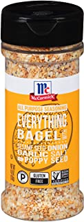 McCormick Everything Bagel All Purpose Seasoning, 4.8 oz