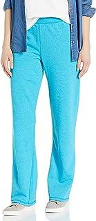 Hanes Women's EcoSmart Open Bottom Leg Sweatpants