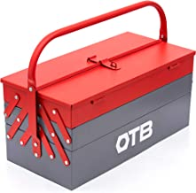 OTB Automobile Bike Repair/Wrench Tool kit Set/Tool Box Kit/Hand Tools Set/Wrench Set/Motorcycle Tools/Socket Wrench Tool case/Tool Case - 5 Compartments