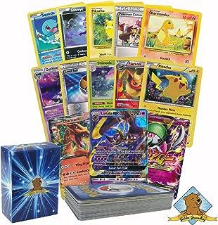 Pokemon 50 Card Lot Guaranteed 1 Mega, EX or GX No Duplicates By Golden Groundhog