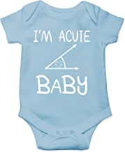Acute Baby Romper - Geeky Math Humor - Funny Cute Infant Creeper, One-Piece Baby Bodysuit