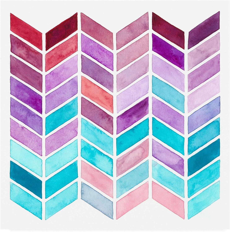 Trademark Fine Art Geometric Trance I by Regina Moore, 14x14