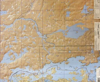 McKenzie BWCA/Quetico Canoe Map Number 31