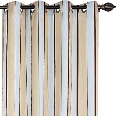 Deco Window Eyelet Dark Beige Ankita Window Curtain Set of 1-5 ft, Multicolor