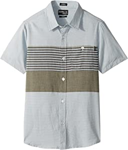 O'Neill Kids - Altair Short Sleeve Wovens (Big Kids)