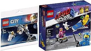 LEGO City Movie Space Set Benny's Squad 70841 Bundled 30365 Satellite Inspired by NASA Spacewalks polybag 2 Items