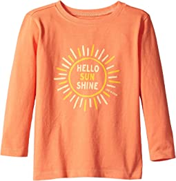 Hello Sunshine Long Sleeve Crusher Tee (Toddler)