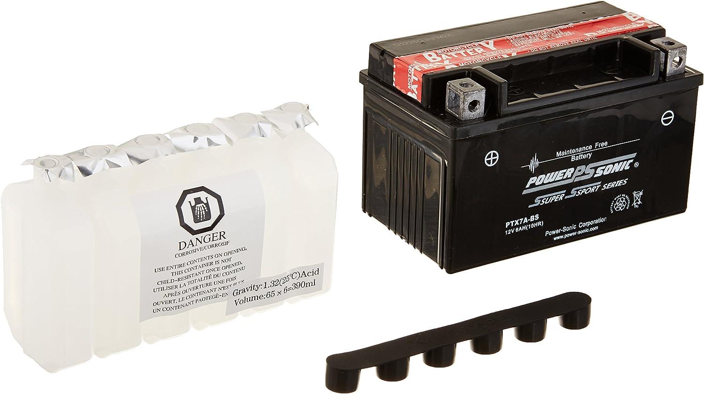 PowerSonic (PTX7ABS) Sealed Maintenance Free Powersport Battery