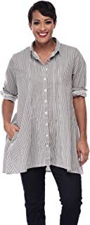 Tulip Clothing Perry Button Down Shirt in Soho Stripe