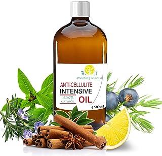 comprar comparacion Aceite Anti Celulitis 500 ml Con Aceites Esenciales Triple acción: drenante, quema grasa y reafirmante