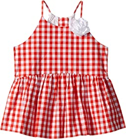 Sleeveless Gingham Top (Toddler/Little Kids/Big Kids)