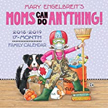 Mary Engelbreit's Moms Can Do Anything! 2018-2019 17-Month Family Wall Calendar