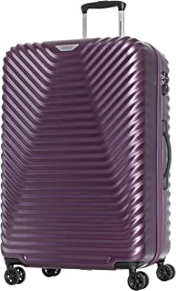 American Tourister SkyCove Hardside Spinner Luggage 79cm with tsa lock - Purple