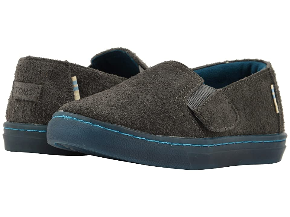 TOMS Kids Luca (Infant/Toddler/Little Kid) (Shade Shaggy Suede Water Resistant) Kid