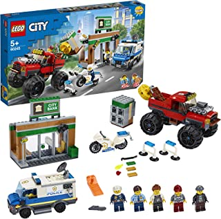 LEGO City Police Police Monster Truck Heist for age 5+ years old 60245