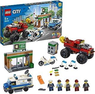 LEGOCity60245PoliceMonsterTruckHeistwithVanandMotorbike