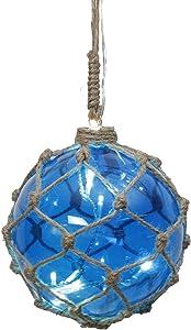 Star 457–42Noah redonda con 8del vidrio 0,24W azul 15x 14x 14cm)