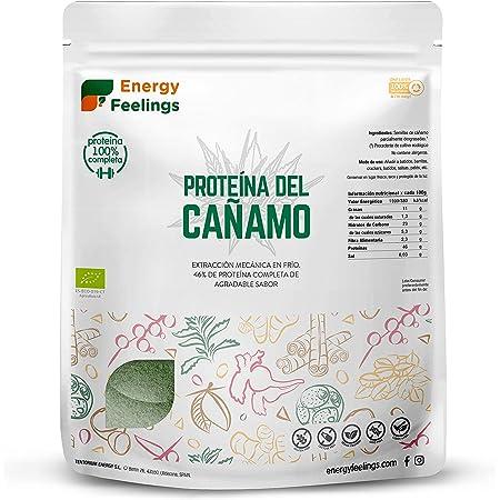 Energy Feelings Proteína de Cáñamo Eco - 1000 gr