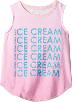 Chaser Kids - Vintage Jersey Ice Cream Tank Top (Toddler/Little Kids)