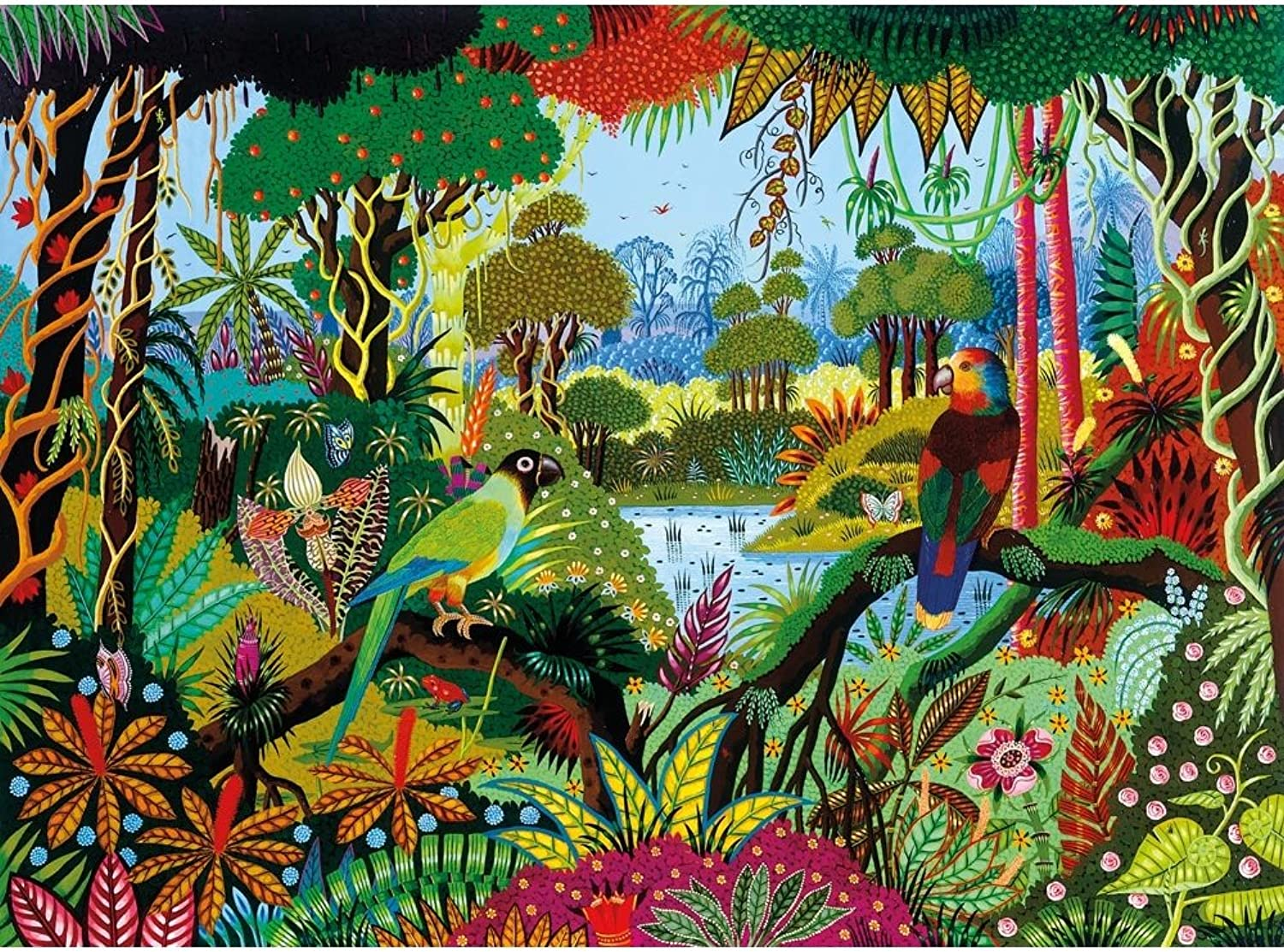 Wooden Jigsaw Puzzle - Alain Thomas  Jungle