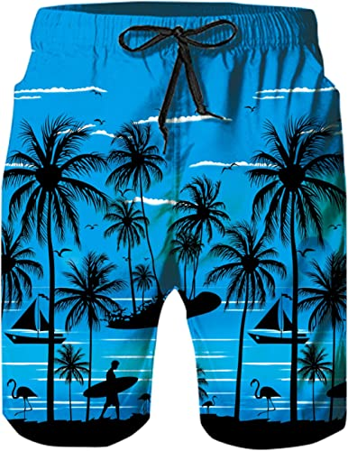 Rave on Friday Maillot de Bain Homme 3D Imprimé Été Cool Gym Casual Short de Plage Séchage Rapide S-XXL