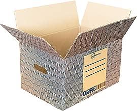 20 Cajas de Mudanza y Almacenaje resistentes con Asas (40x30x25cm) - Cajas de Carton para envio
