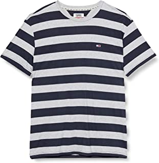 Tommy Jeans Men's Tjm Heather Stripe T-Shirt