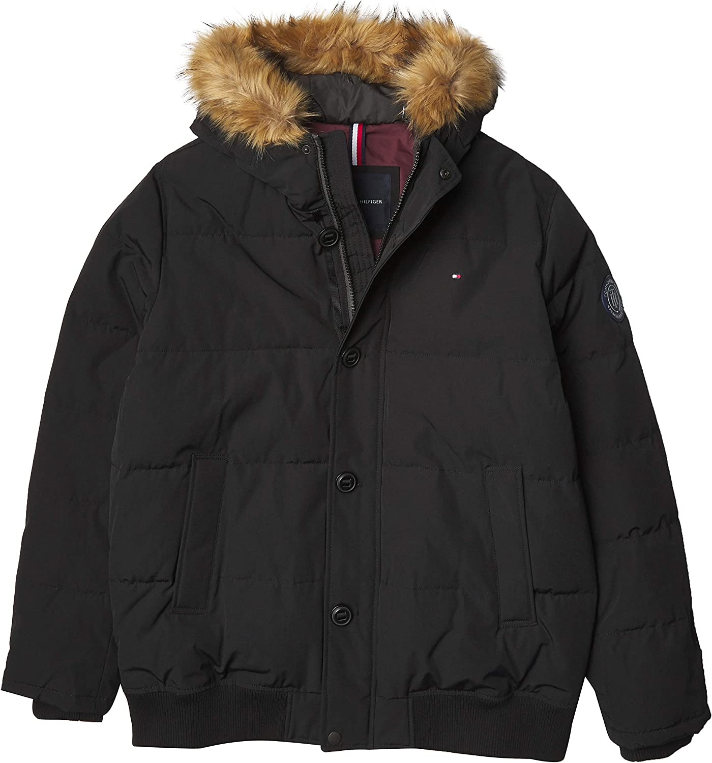 Tommy Hilfiger Men's Arctic Mail order cheap Heavyweight Parka Performance sold out Cloth
