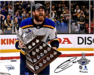 Ryan O'Reilly St. Louis Blues 2019 Stanley Cup Champions Autographed 8