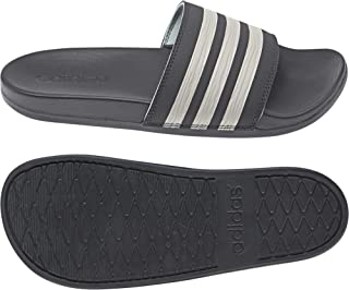 b4379384a5 adidas Adilette Comfort W Gray Six Synthétique Adulte Slides Sandales