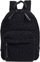 Elizabeth and James Women's April Teddy Backpack, Black, One Size